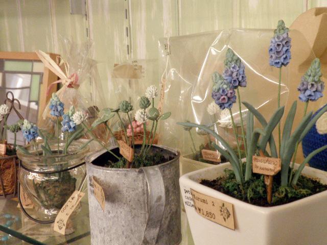 樹脂粘土教室 福岡県大野城市にある3月うさぎでは各種のハンドメイド教室を開いています