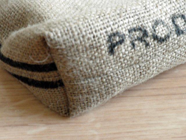 【1点もの】Bean'sオリジナルバッグ:イエメンのコーヒー豆が入っていた麻袋バッグ(asa015)