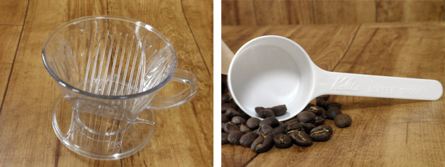 【コーヒードリッパー】カリタ101-D(AS樹脂製)ロト/2~4人用/プラスチック製 (cg013)